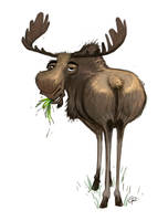 Moose by GuillermoRamirez