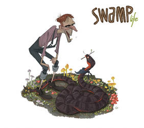 SWAMP life - Uncle Otis by GuillermoRamirez