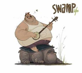 SWAMP life - Buck by GuillermoRamirez