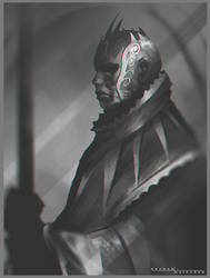 Character sketch by ShahabAlizadeh