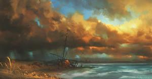 Storm Coast by ShahabAlizadeh