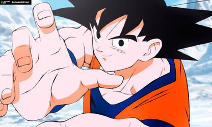 Goku by LeonardoFrost