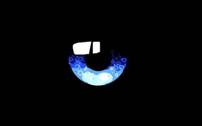 Blue Eye Lens 1 - MS Paint by Art-Is-My-Waifu
