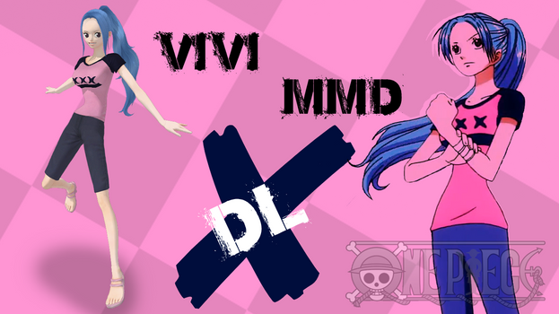 MMD One Piece Vivi DL by Friends4Never