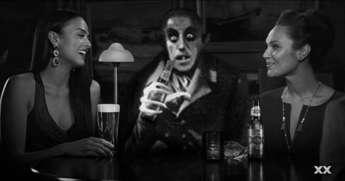 Count orlok with 2 ladies by darkshreaders2