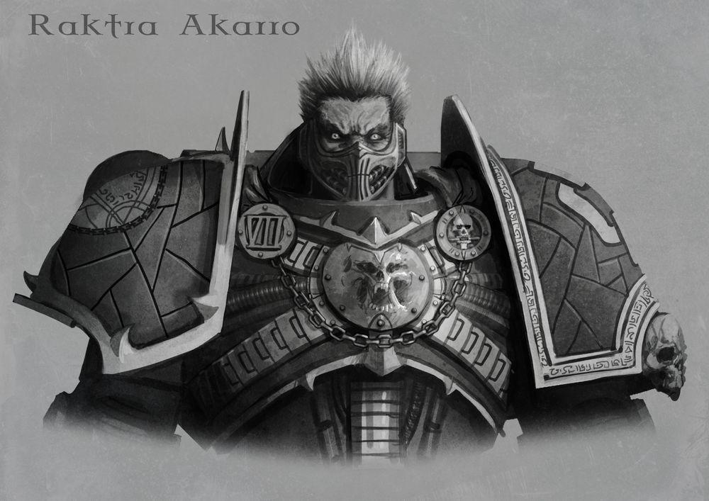 Raktra Akarro the lost primarch by darkshreaders2