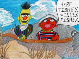 Here Fishey Fishey Fishey by Dreamerzina