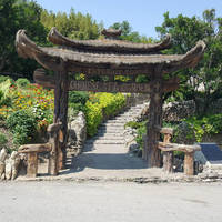Japanese Tea Garden in San Antonio by WisTex