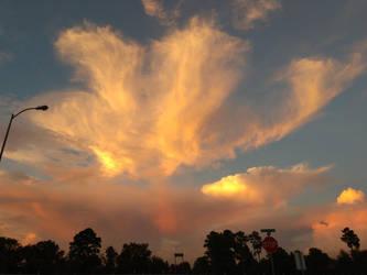 Golden Clouds (Original) by WisTex