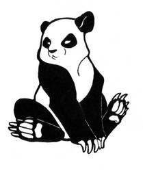 Panda by Kaashtian