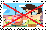 Anti Jared Shapiro Stamp by KawaiiFoxiez