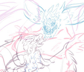 WIP- Rathian won by Vipery-07art