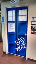 Bad Wolf Door by ErithEl