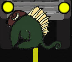 spiky splat by will2bill