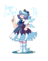 Cirno Day by AlysTown