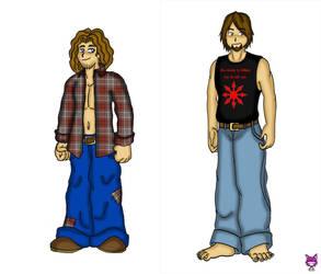 Travis Evolution by CheshireCaterling