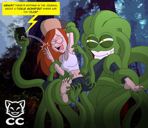 FREEBIE: Wendy and the Tickle Monster by CheshireCaterling