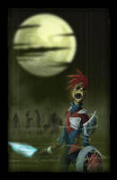 Zombie StormHawks by skyknightnd