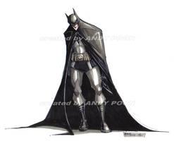 batman - markers doodle by skyknightnd