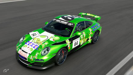 A Porsche Fit For A Yoshi by SonicAndTailsfan64
