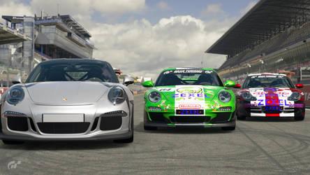 Porsche 911 History by SonicAndTailsfan64
