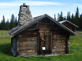 log cabin I by two-ladies-stocks