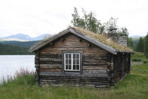 log cabin II by two-ladies-stocks