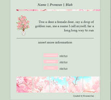 Non Core Custom Box Cherry Blossoms by Rouren-San