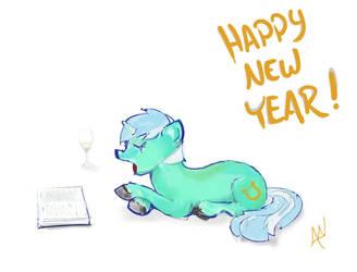 Happy New Year Lyra! by MadisonTourmaline