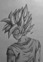 Goku SSJ by Conzibar