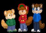ordered custom designs of chipmunks by FallenChipmunk