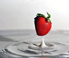 Strawberry Milkshake by MichelleRamey