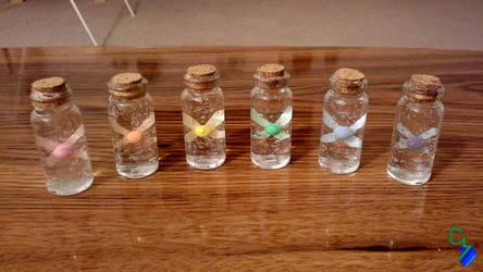 Zelda - 2-Inch Rainbow Fairy Bottle Crafts by Colonel-Majora-777