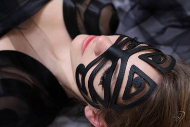 Maori mask by JULSHION