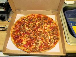 Thin 'n Crispy Meat Lover's Pizza by BigMac1212