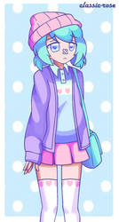 Pastel Girl Challenge by cutie-petunia