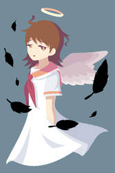 Haibane Renmei : Rakka by cutie-petunia