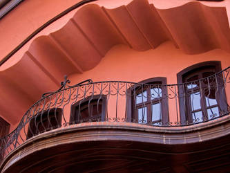 Waves at the Balcony by deviali