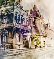 Lviv. Ukraine by Halyna-Venhlinska