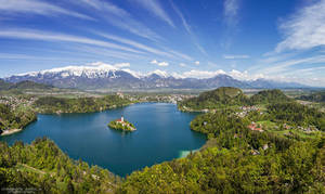 Lake Bled by DominikaAniola