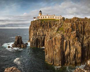 Neist Point Lighthouse by DominikaAniola