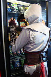 Altair, I want candy T-T by Kakashijess