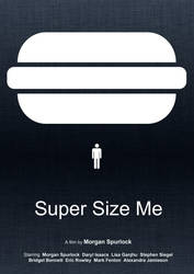 Super Size Me (Minimal Movie Poster) by Bnxtd