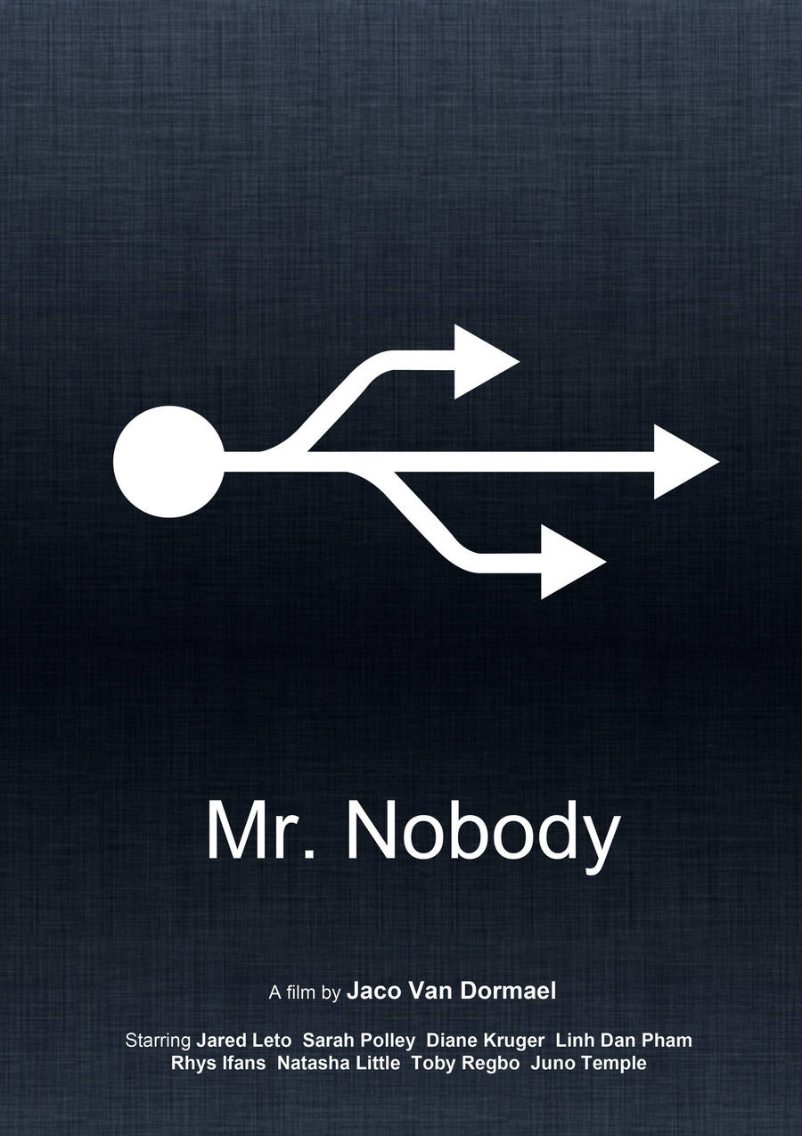 Mr Nobody (Minimal Movie Poster) by Bnxtd