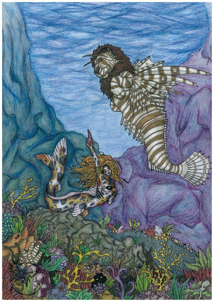 Mermaid's Garden by Imkihca