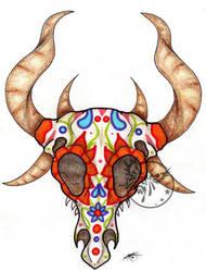 Sugar Dragon Skull by Imkihca