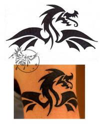 Al's Dragon Tattoo by Imkihca