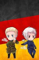 Hetalia iWallpapers - Germany (and Prussia) by Dreamweaver38