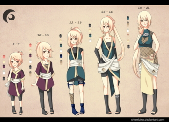 Naruto OC Timeline - Odoroki Jun by cherriuku