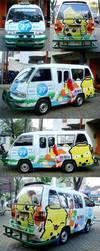 My Dino Transportation by theyellowdino